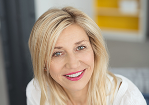 CryoClear   photo of an attractive older woman with blond hair